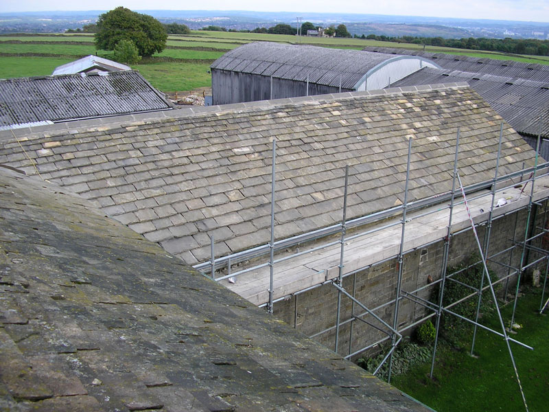 Yorkshire Stone Roof Refurbishment