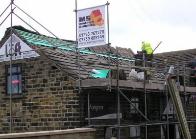 Commercial Property Repairs and Re-roofing