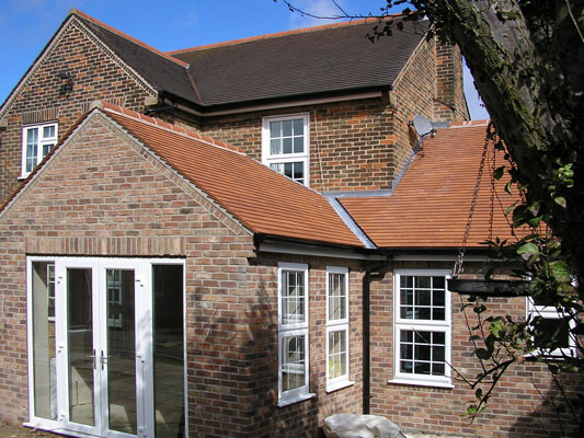 Roof to New House Extension