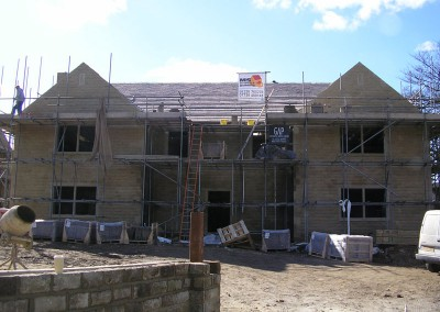 Roof on Detached New Build Property